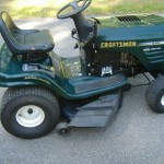 Craftsman Lawn Tractor serviced