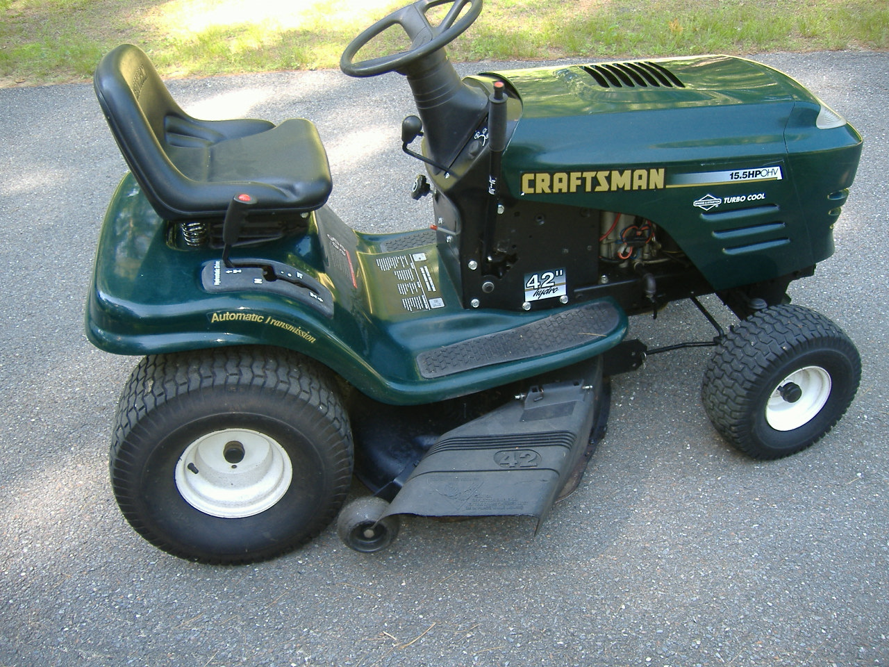 Craftsman Lawn Tractor serviced Townsend Road Power