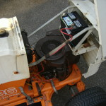Opened AMF Lawn tractor serviced and repaired