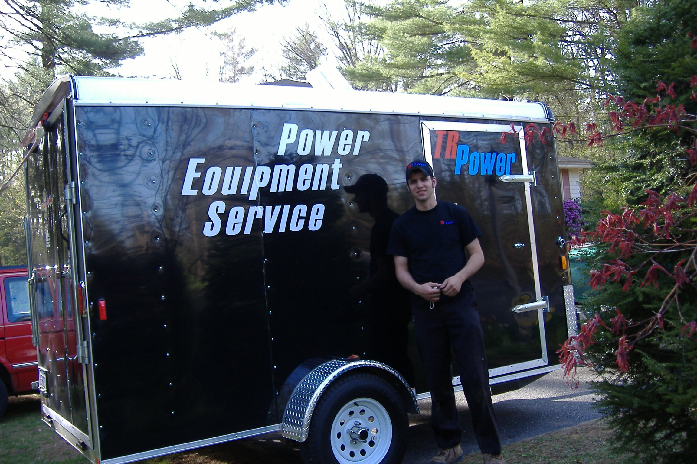 Repair and Maintenance Power Equipment Service trailer with Greg of Townsend Road Power